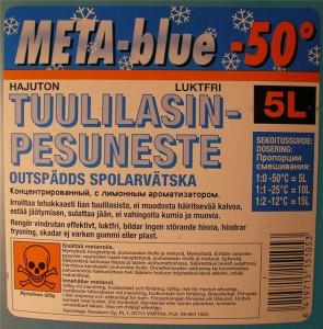 Незамерзающая жидкость из метанола